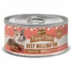 Merrick 無穀物 牛肉+雞肝 (beef wellington) 貓罐頭 5.5oz