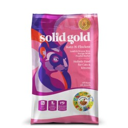 Solid Gold 素力高 羊+糙米 低敏配方 (Katz-N-Flocken) 全年齡貓糧  4lb 到期日: 10/Apr/2021