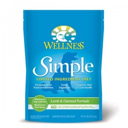 Wellness SIMPLE 防敏羊肉燕麥配方 26lb x2包