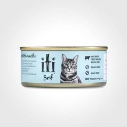iti 紐西蘭天然貓罐 牛肉 85g x24罐優惠