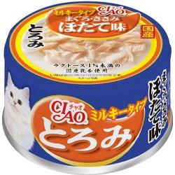 CIAO 雞胸肉+金槍魚+貝柱 (日本牛奶使用) (綠茶消臭配方) A-111 x24優惠