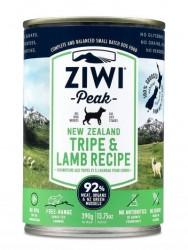 ZiwiPeak 草胃及羊肉 配方狗罐 390g x12優惠