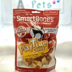 Smart Bones 雞肉味 細型潔齒玩樂球 10粒裝