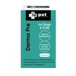 Dr. Pet 天然皮膚綜合補充膠囊 30粒 x2樽