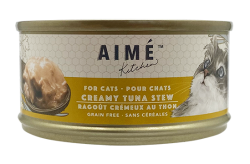 Aimé Kitchen 吞拿魚濃湯Creamy Tuna Stew 貓罐 85g  x24罐優惠