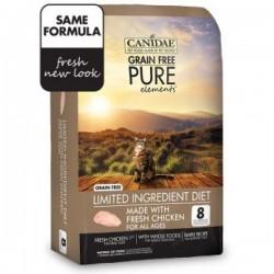 Canidae PURE Elements 無穀物多元配方貓乾糧5磅 到期日: 15/06/2021