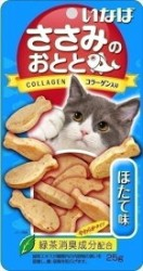 INABA QSC-202 雞肉小魚燒貓小食 - 帶子味 25g