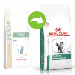 Royal Canin - Satiety Support (SAT34) 飽肚感體重管理 處方貓乾糧 3.5kg