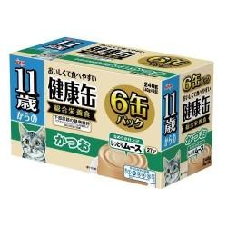 Aixia 11+ 健康慕斯貓罐-鰹魚 (KCE6-10) 40g x6罐裝